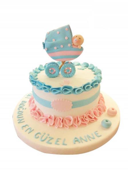 Yeni Doğan Bebek Pasta
