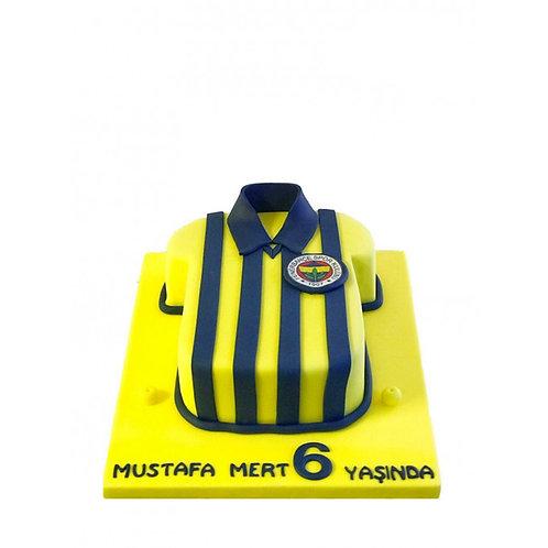 Fenerbahçe Forma Pasta
