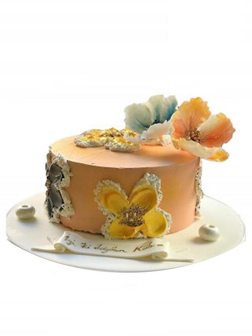 Çiçekli Konsept Pasta
