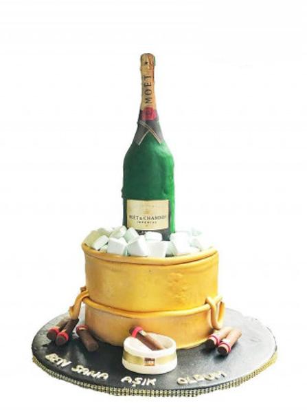Şampanya Pasta