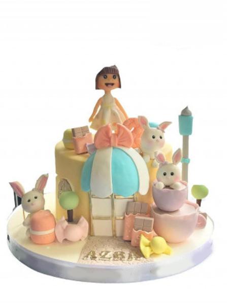 Tavşan Çocuk Pasta