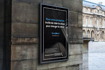 Campagne de publicité pour Symposium