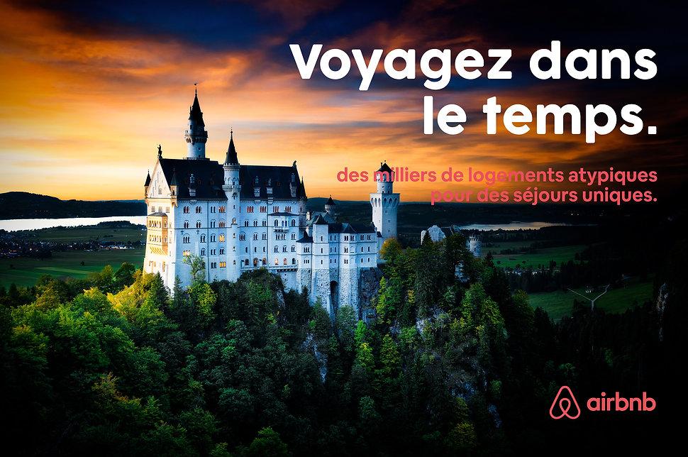 Campagne publicitaire pour airbnb