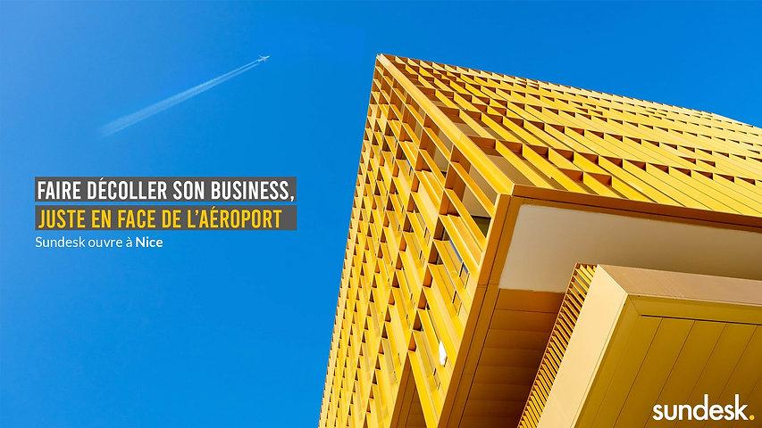 Campagne de publicité pour Sundesk réalisée par l'agence de publicité Les Nouveaux Concepteurs