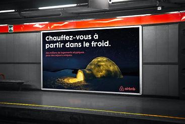 Campagne de publicité Airbnb
