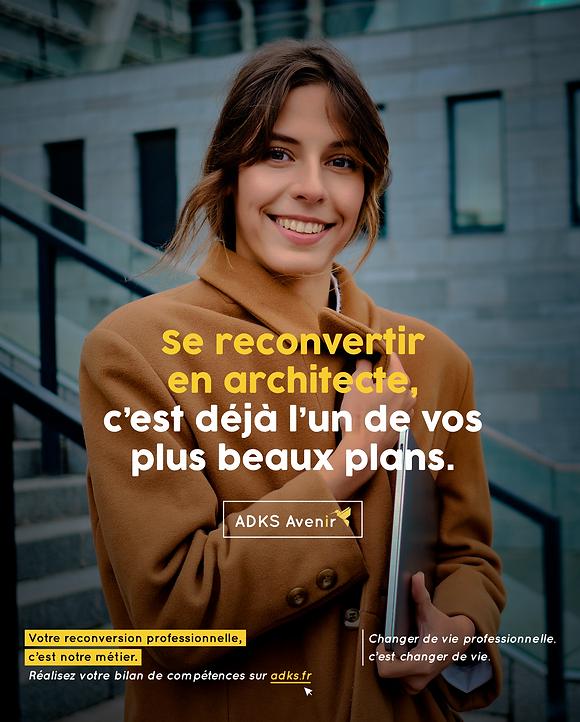 Campagne publicité pour ADKS
