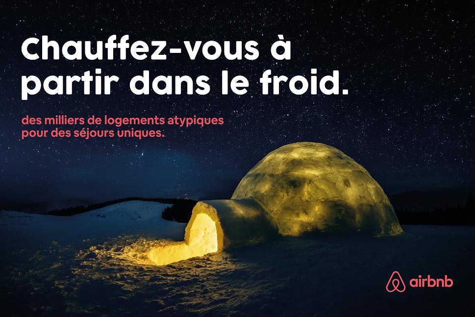 Campagne de publicité pour Airbnb