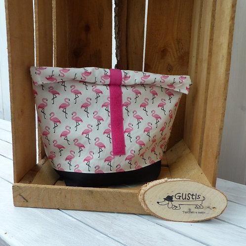 Lunchbag Flamingo rosa