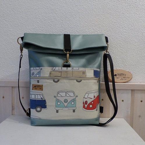 Tasche und Rucksack 2 in 1 Bulli