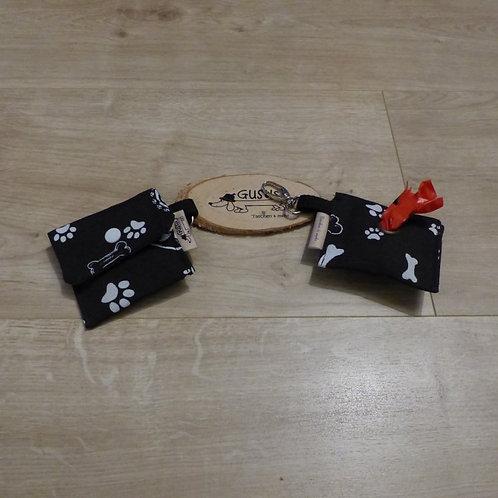 Kotbeuteltasche schwarz