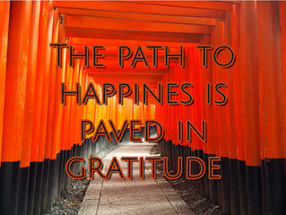 The Path to Happiness is Paved in Gratitude