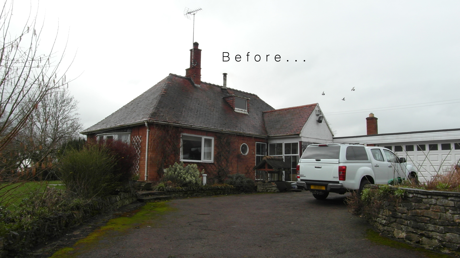 A doomed bungalow...
