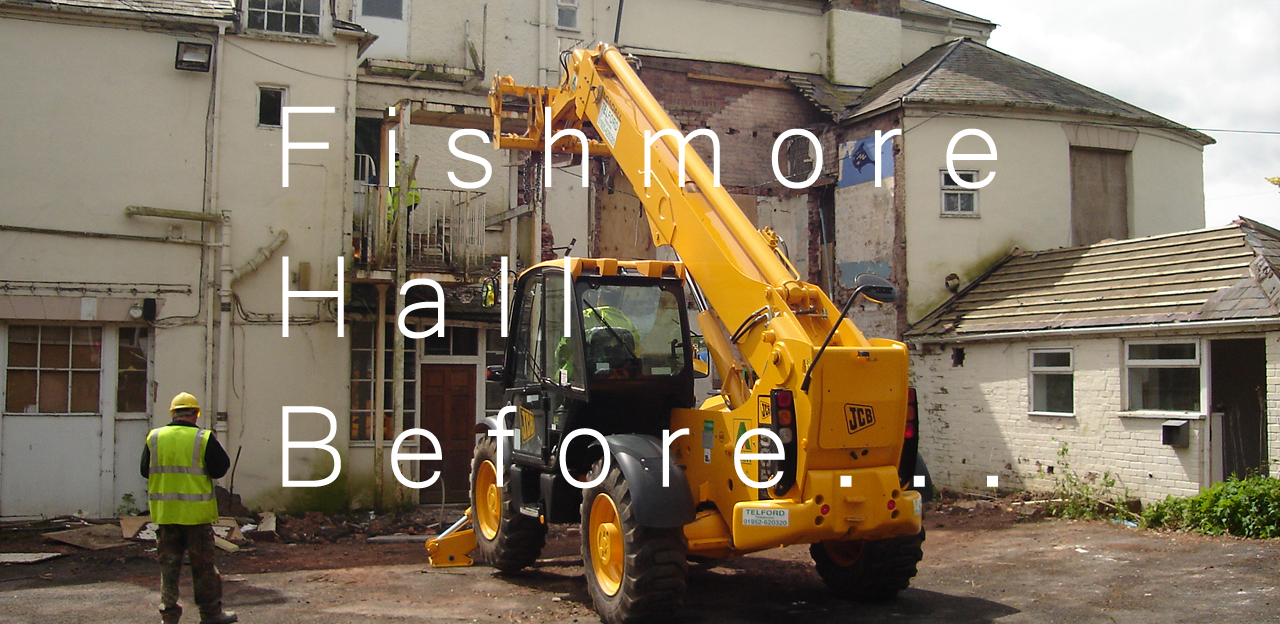 Fishmore Hall, Demolition_before