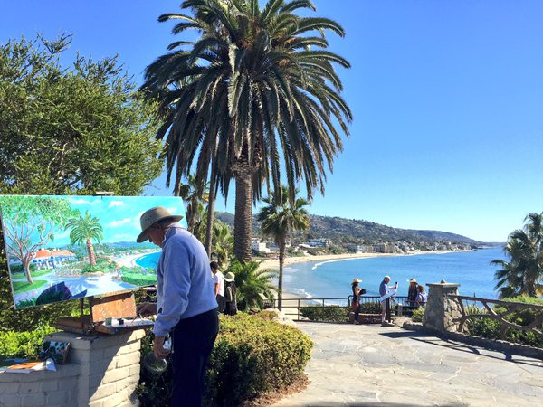 Painting In Laguna Beach