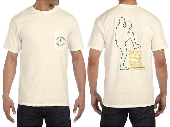 The MVP Memorial Foundation inaugural T-Shirt spring 2015.