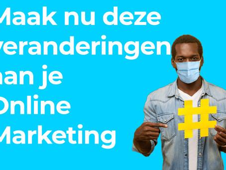 Online Marketing tijdens Corona