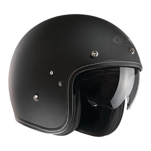 HJC FG-70s Openface Helmets Matt Black