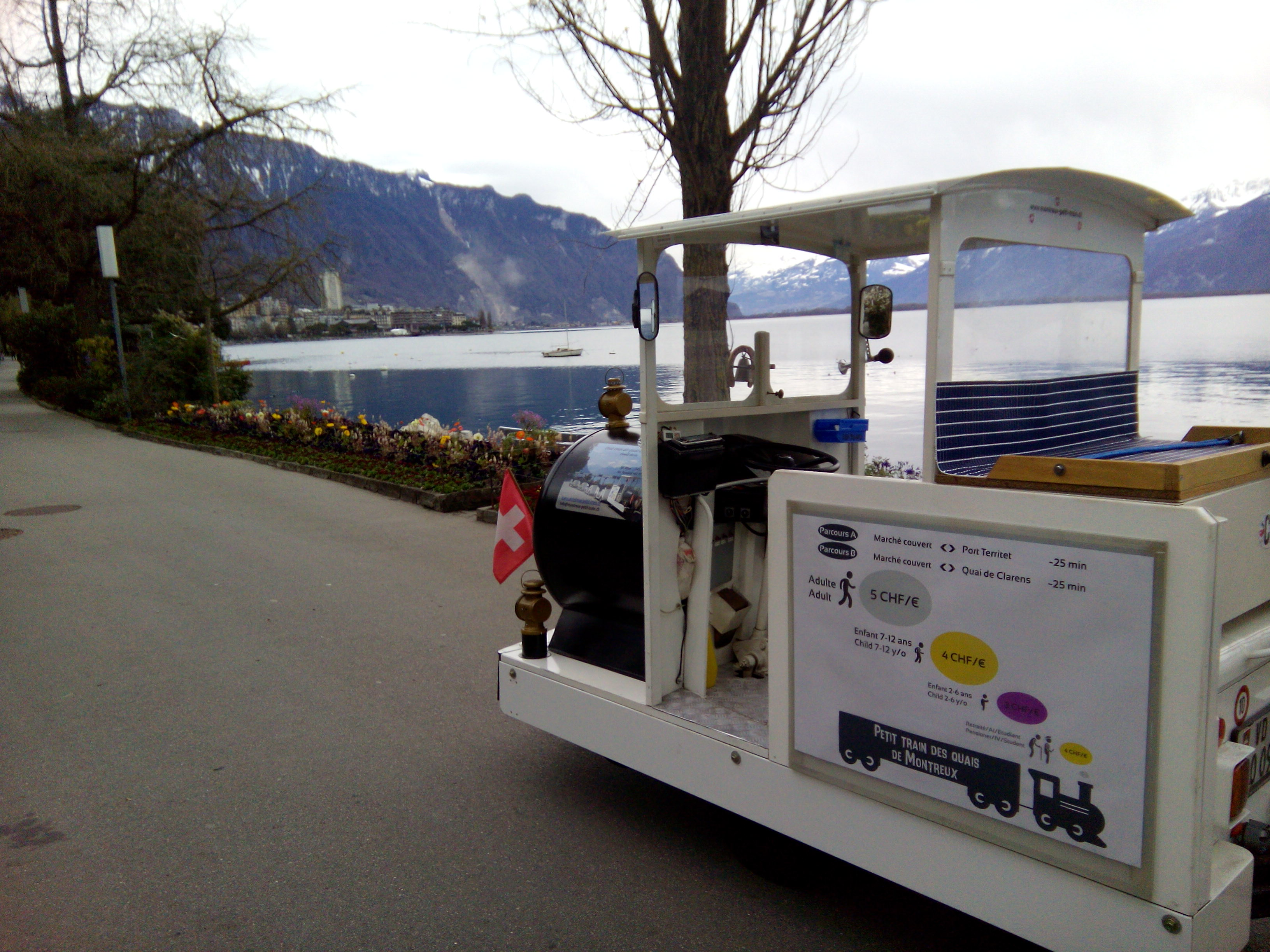 Montreux petit train - Printemps