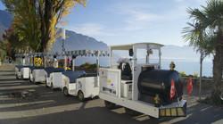 Montreux petit train - Eté