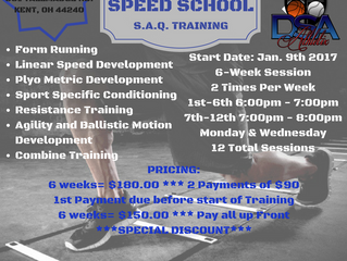 Speed Training Session 2