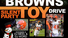 MEET THE BROWNS TOY DRIVE EVENT 🏈🎁⛄️🎧