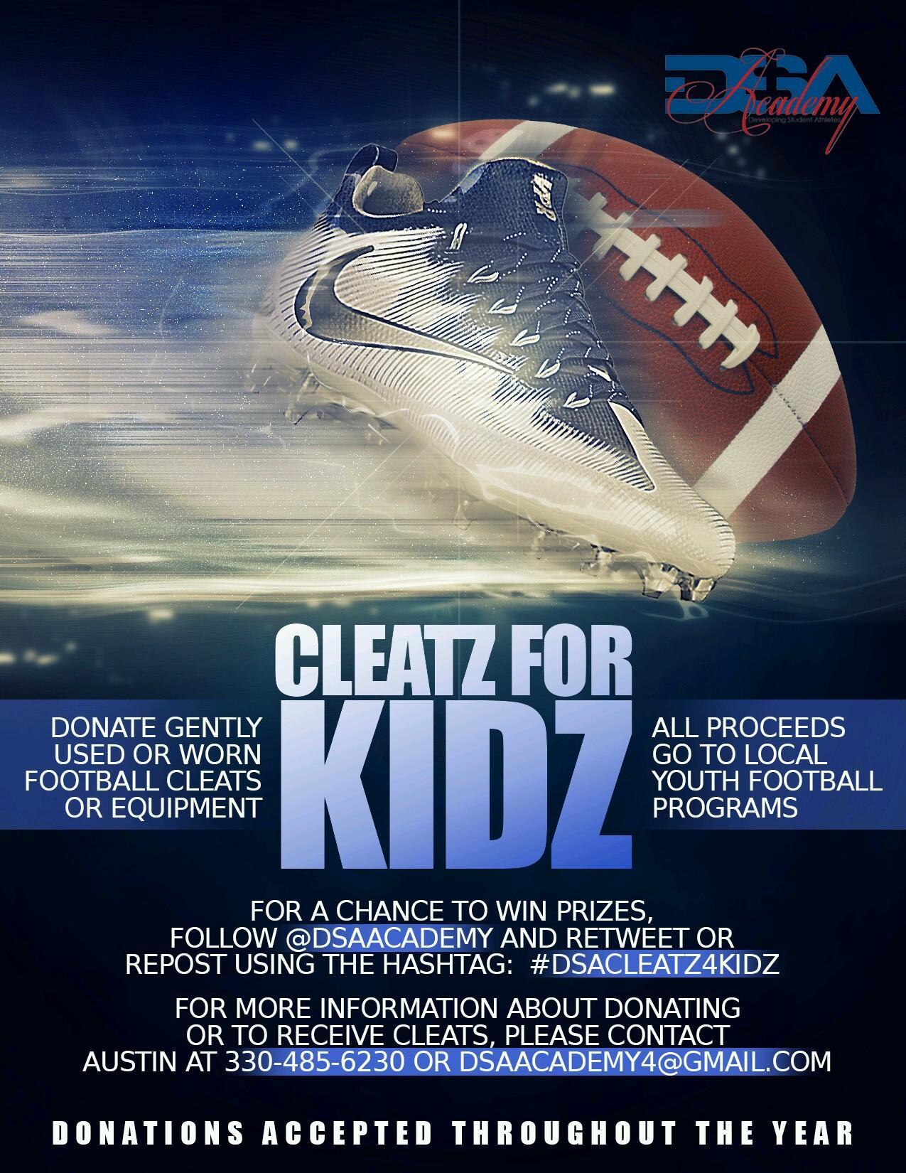 Cleatz for Kidz