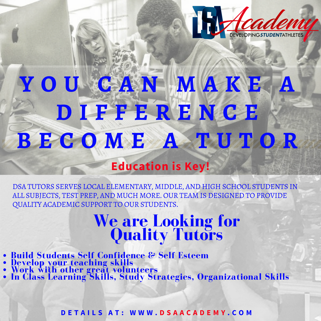 Recruiting Tutors