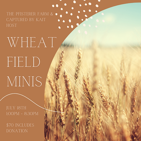 Wheat Field Minis supporting Ronald McDonald House
