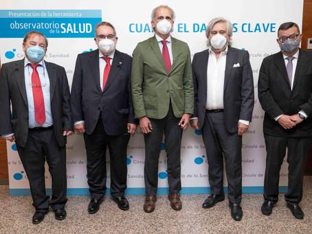 Azierta participa en la presentación del 'Observatorio de la Salud'