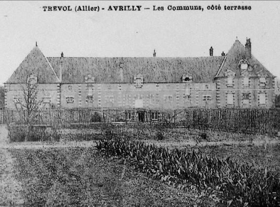 Carte postale du Château d'Avrilly