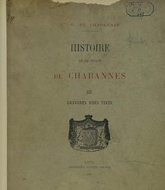 Histoire de la maison de Chabannes - Famille de Chabannes