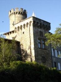 Tour du château du Vergier - Famille de Chabannes