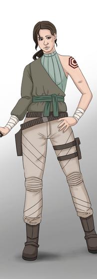 Mercenary Character Design