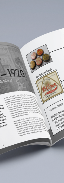 History of Soda Booklet