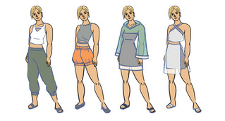 Juliet Clothing Exploration