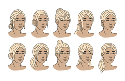 Juliet Hair Variations