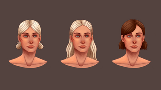Juliet Hairstyle Progression