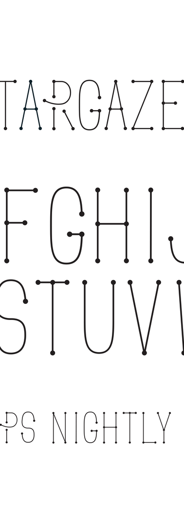 Stargazer Display Font