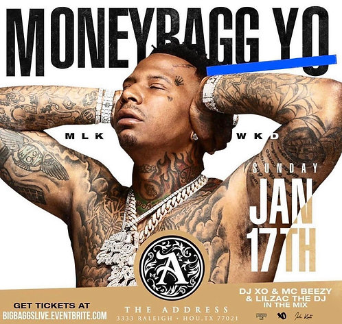MONEY BAG YO MLK WKD ( 5 Mins Slot )