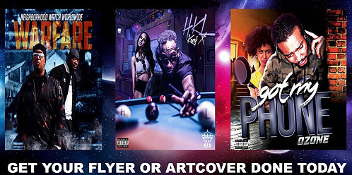 Get 4 Flyers or Artwork Cover Done
