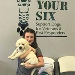 Service puppy chosen by GYS