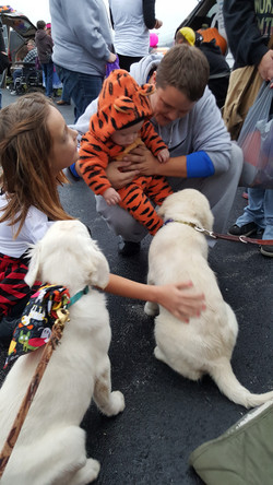 Trunk or Treat Benelli and Daisy