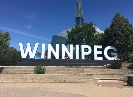 Winnipeg et la traversée des Prairies