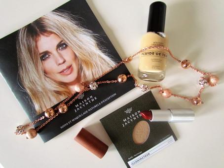 Mode&cie a testé les produits de maquillage Maison Jacynthe