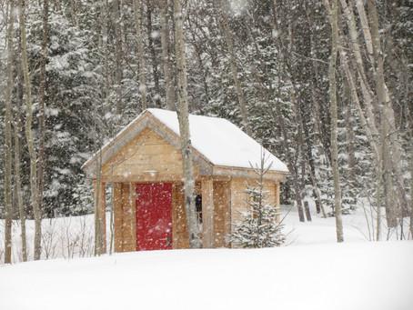 Ma cabane dans le bois