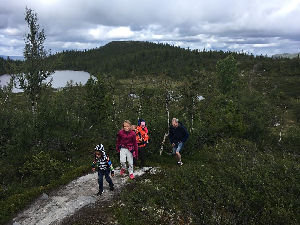 Vandretur med baby i Norge