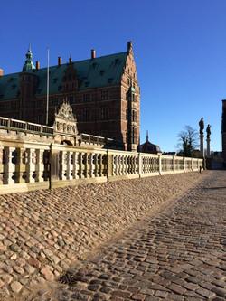 Frederiksborg Slot - Belægning