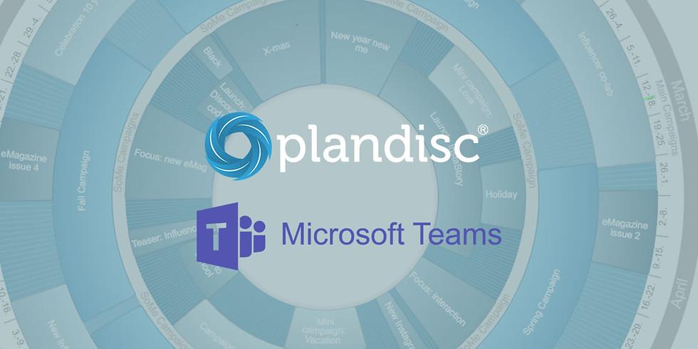 Plandisc & Microsoft Teams - effektiviser planlægningen (afholdt 2.0)