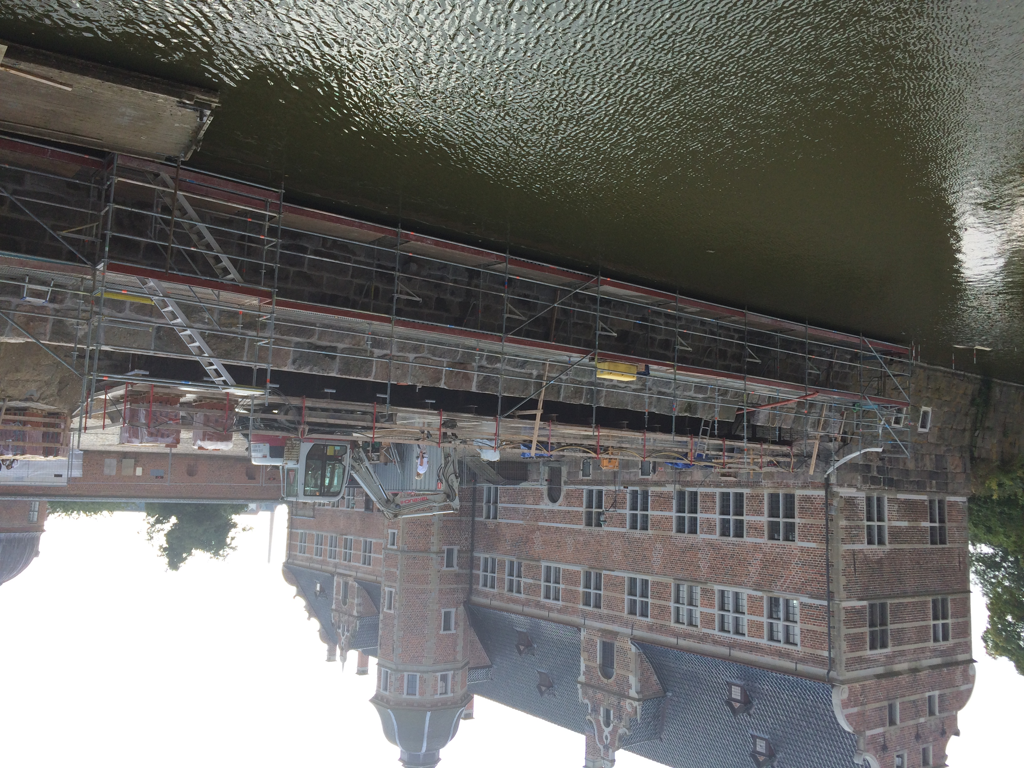 Frederiksborg Slot - Voldmur
