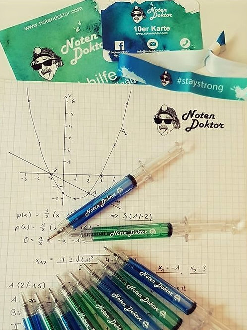 Kugelschreiber Notendoktor-Spritze
